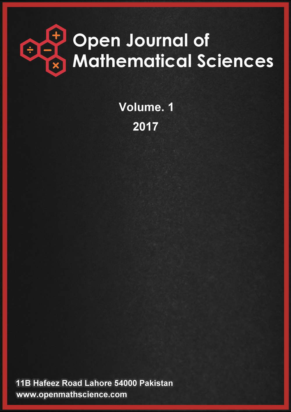 Open Journal of Mathematical Science (OMS) – PISRT